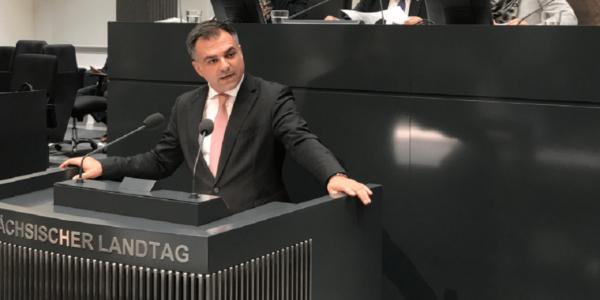 Pantazis im Plenum - Foto: (c) SPD-Landtagsfraktion