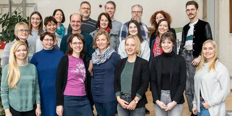 Blogger des Arbeitskreises im TrafoHUB - Foto: Braunschweig Stadtmarketing GmbH/Philipp Ziebart