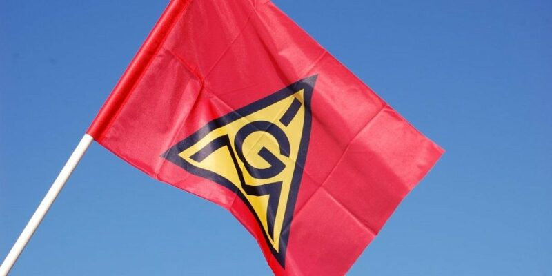 IG Metall Fahne