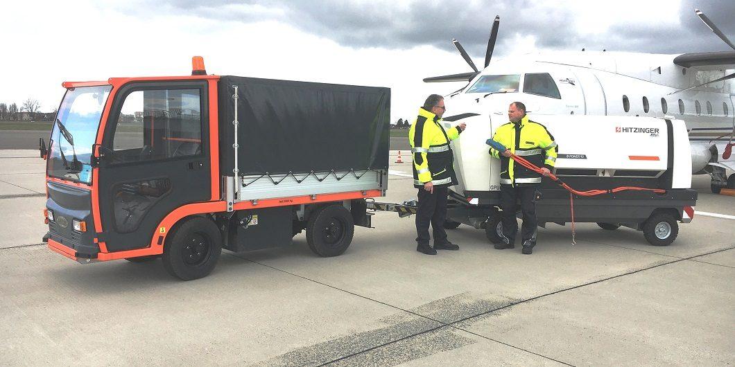 Flughafen senkt Lärmpegel bei Stromversorgung - Foto: Flughafen BWE