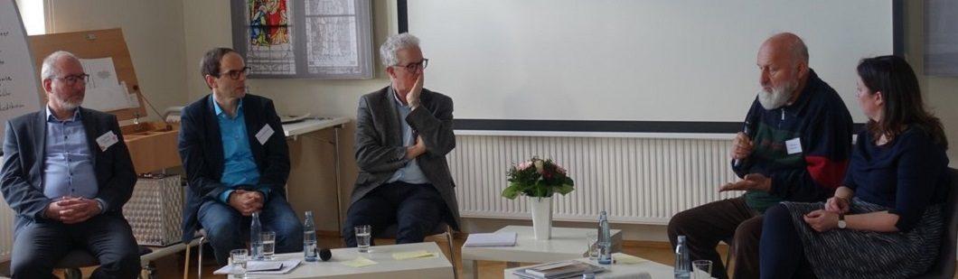 Fachtagung Vor Ort sein-Abschlussdiskussion - Foto: Akademie St. Jakobushaus