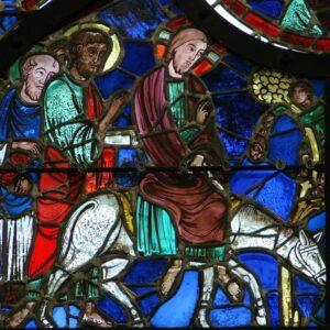 Kathedrale von Laon - Einzug in Jerusalem; Foto: Redaktion