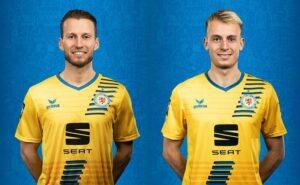 Marc Pfitzner und Julius Düker - Foto: (c) Eintracht Braunschweig