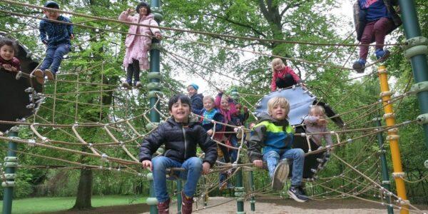 Niedrigseilgarten im Bürgerpark - Foto: (c) Stadtbad GmbH Annette Böhme