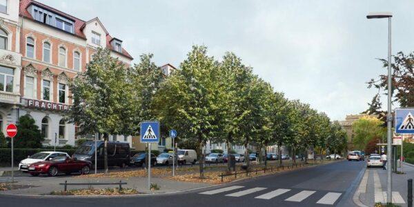 Visualisierung Jasperallee - copyright Stadt BS