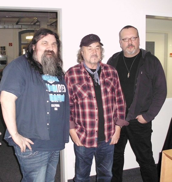 F. Damm, Miller Anderson und Frank Tischer - Foto: Red.