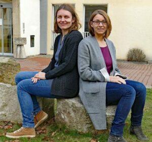 Yvonne Blöcker und Madlen Kestner (r.)