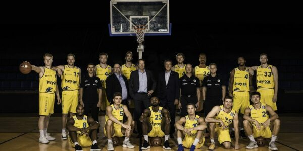 Basketball Loewen BS Teamfoto 2019 - Foto: Pressefoto