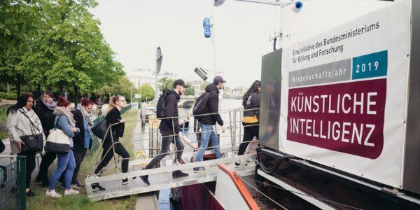 MS Wissenschaft 2019 - Foto: (c) WiD Ilja Hendel