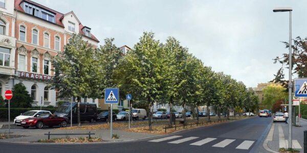 Visualisierung Jasperallee - (c) Stadt BS