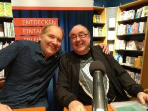 Frank Schäfer und Ralf Sotscheck - Foto: Sylvia Scholz
