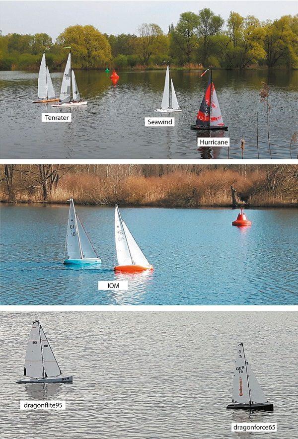 Modellbootsegler - Foto: Naturfreunde BS