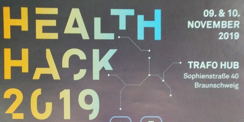 Health Hack Plakat