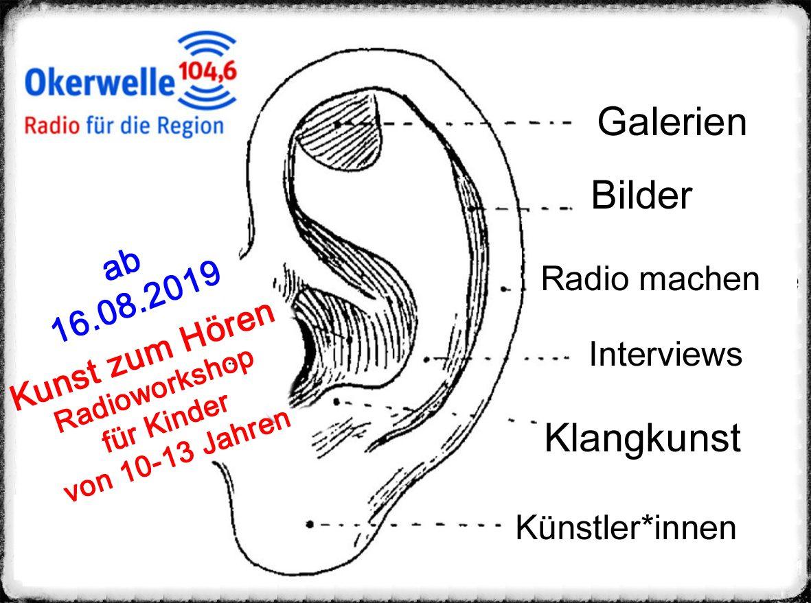 Radio Workshop - Kunst zum Hören Ohr