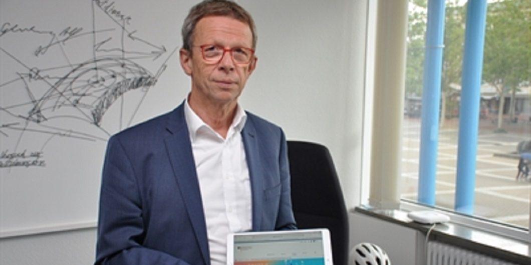 OB Klaus Mohrs nach Smart City-Entscheidung Foto: (c) Stadt Wolfsburg