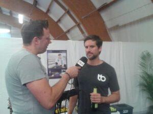 Tom Beck im Interview mit Andreas Evert bei den Sparkassen Open 2019