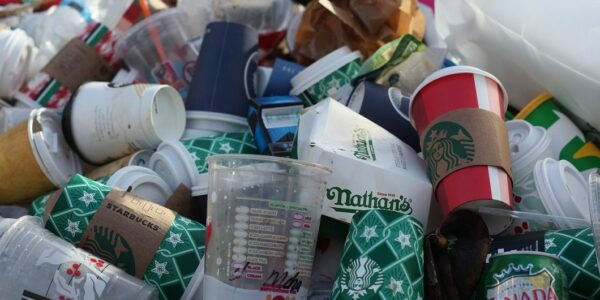 Plastikmüll und coffeetogo - Foto: pixabay