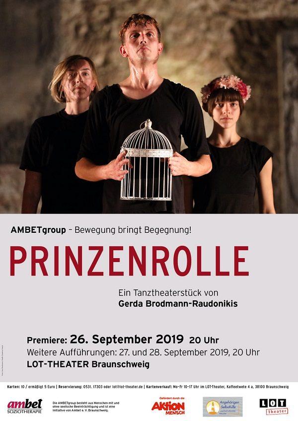 Prinzenrolle - Plakat: AMBETgroup