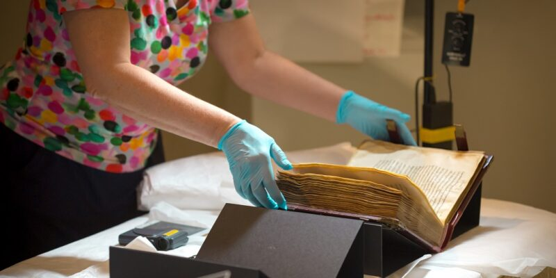 Tacitus-Kodex - Foto: (c) Landesmuseum BS