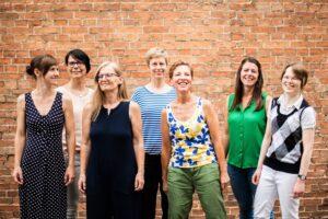 Team der Frauen- und Mädchenberatungsstelle bei sexueller Gewalt e.V.