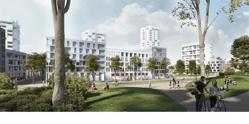 Umgestaltung Bahnhofsumfeld - Bild: (c) Architektur- und Planungsbüro WELP von KLITZING