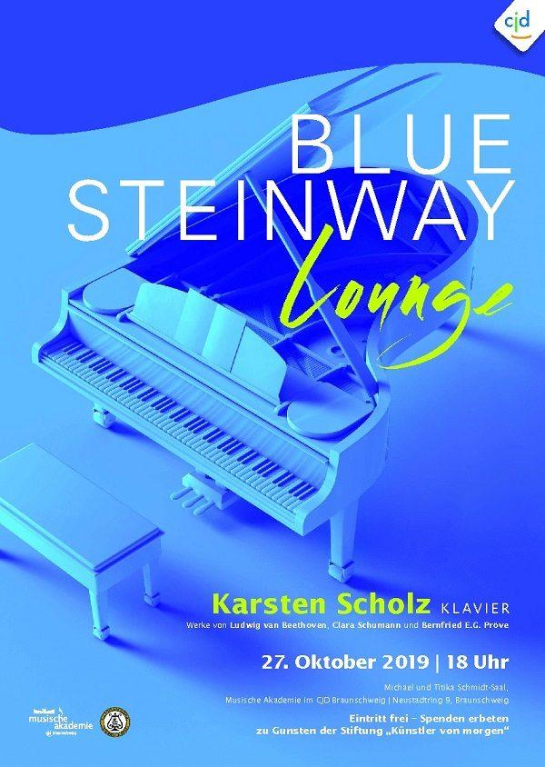 Blue Steinway Lounge - NewYorker Musische Akademie im CJD Braunschweig