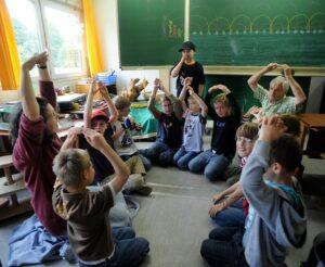 Waldorfschule,Förderschulzweig,Sylvie Dudek und Peter Kopfmann foto: flentje